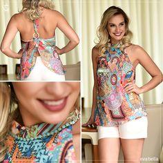 Looks Eva Bella   Estampa #Print Exclusiva  Primavera Verão 2015   www.evabella.com.br