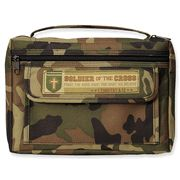 Soldier of the Cross, Bible Cover, Camo, Medium   -