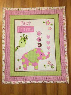 Baby Quilt/Baby Quilt for Boy Girl/Old MacDonald Farm/Farm Baby ... : elephant quilt panel - Adamdwight.com