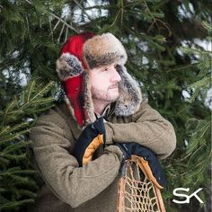 86e190bb8b8cff Northwoods Trapper Hat. Stormy KromerWinter ...