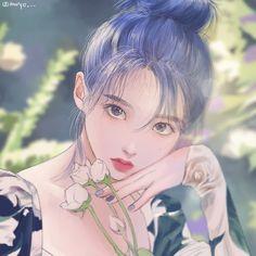 Cartoon Girl Images, Girl Cartoon, Cartoon Kunst, Cartoon Art, Kpop Fanart, Anime Art Girl, Manga Art, Anime Angel Girl, Cute Anime Character