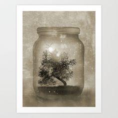 Saving Nature. Art Print by Viviana Gonzalez - $19.95