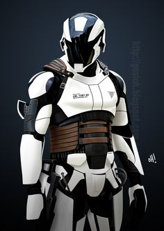 We could go white armour on black base but I think thats a bit storm trooper ish. Grey is better (with purple and lights n stuff)