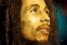 Bob Marley Artist:  Don Biggs