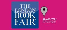 We're here @LondonBookFair - visit us at booth 7J11 #LBF15 #olympia #LondonBookFair