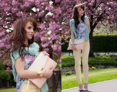 Colors of Spring (by Trishka .) http://lookbook.nu/look/3375545-Colors-of-Spring