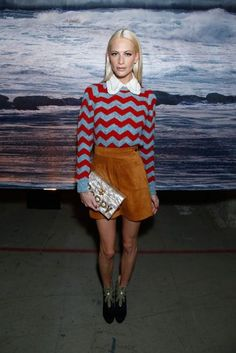 Poppy Delevingne London Fashion Week Front Row And Parties #ootd