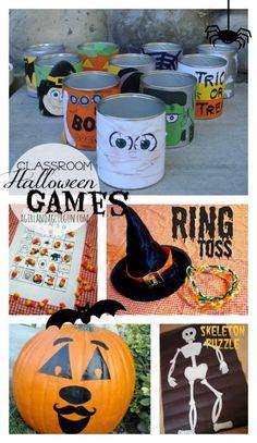 halloween games for classroom parties!