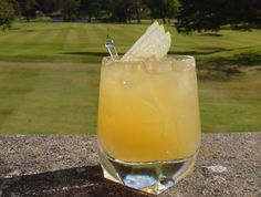 Try this whiskey cocktail from the hotel's bar manager from Gleneagles in Scotland home of the 2014 Ryder Cup.