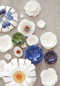 Best paper flowers diy