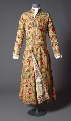 Indian gown 18th cent.