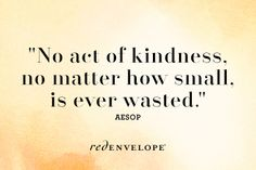 kindness is essencial