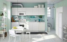 Moderní kuchyně s mátou