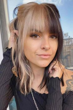 Modern Hairstyles, Hairstyles With Bangs, Blonde Hairstyles, Layered Hairstyles, Casual Hairstyles, Medium Hairstyles, Latest Hairstyles, Celebrity Hairstyles, Weave Hairstyles