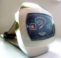 Sicura / Breitling Jump watch RETRO 1970's Men's Watch
