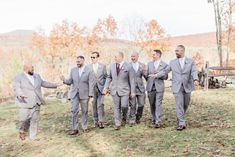 Classic Fall Wedding | New Hampshire Weddings | Caitlin Page Photography | Fall Greenhouse Wedding at The Barn on the Pemi New Hampshire Wedding Venue. Get more inspiration from this gray Greenhouse Wedding, Groomsmen Suits, Dusty Blue Weddings, New Hampshire, Maid Of Honor, Plymouth, Wedding Details, Fall Wedding, Wedding Venues