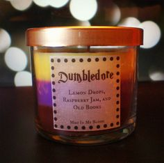 Harry Potter Characters Themed Candles