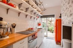 galley kitchen The 10 Most Important Tips For Decorating On A Tight Budget
