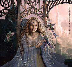Idril Celebrindal - The Age of Gondolin by Ladyoftheflower on DeviantArt