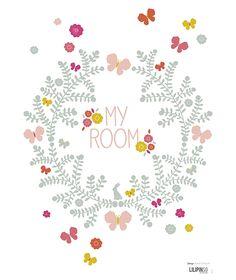 <h3>Sticker mural</h3><p>Quelques fleurs, joliment d