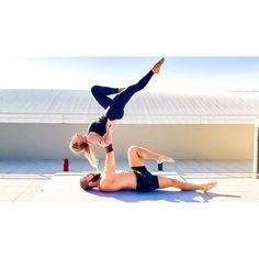 """140 Likes, 3 Comments - Max Larissa-julie Jensen (@above_and_beyond_acro) on Instagram: """"It's finally Friday beautiful people! ♀️#friyay #acroyoga #fitness"""""""