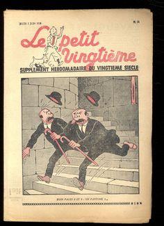 TINTIN  LE PETIT VINGTIEME n°22  2 juin 1938  L'ÎLE NOIRE  HERGÉ  SUPERBE ETAT