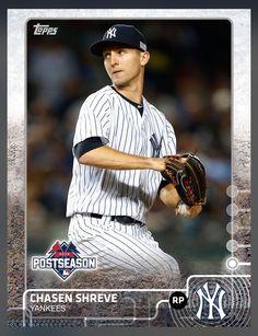 Chasen Shreve New York Yankees Post Season Insert Card 2015 Topps BUNT
