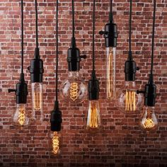 Edison bulb lighting fixtures retro vintage industrial style bar restaurant lighting ideas