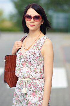 Maxi dress w kwiaty