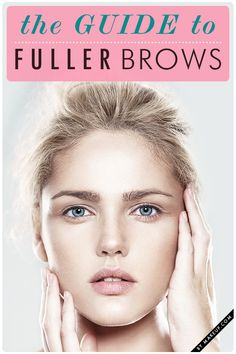 how to fill in your brows in 60 seconds