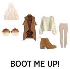 """""""Boot Me Up!"""" by knyla-h ❤ liked on Polyvore featuring Loro Piana, Dorothy Perkins, Chicwish, The Row, Steve Madden and Linda Farrow"""