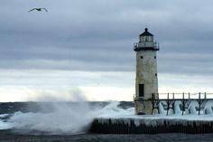 North Pierhead Lighthouse - Manistee, MI