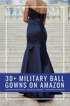 Wondering what to wear to a military ball? i've rounded up a variety Military Girlfriend, Navy Military, Military Spouse, Boyfriend, Marine Ball Dresses, Military Ball Dresses, Formal Gowns, Strapless Dress Formal, Fancy Dress