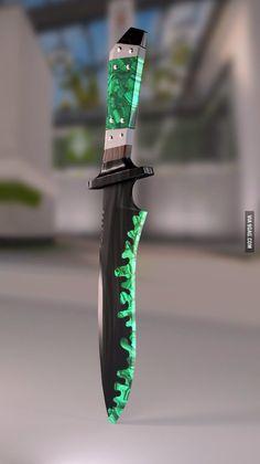 Ножом, смоченным в криптонит