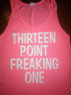 Thirteen Point Freaking One Tank by SparkleTeesNMore on Etsy. That's the goal at least! Running Workouts, Running Tips, Workout Gear, Running Outfits, Workout Quotes, Running Shirts, Workout Tips, Workout Shirts, Run Like A Girl