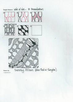 Tied in Tangles original pattern