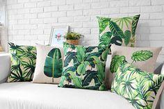 Almofadas decorativas, tropical, flamingos, decoração