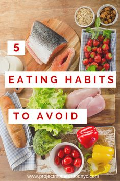 Healthy Living: 5 Not So Obvious Eating Habits to Avoid