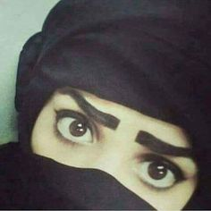 ❤αвí❤ Beautiful Hijab, Beautiful Eyes, Amazing Eyes, Black Majic, Arabian Eyes, Arab Swag, Girly Pictures, Girly Pics, Eye Makeup Designs