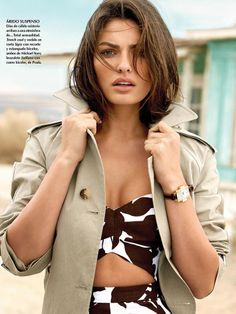 Alyssa Miller photographed by Yu Tsai for Vogue Mexico, May 2014. Makeup by Fiona Stiles.