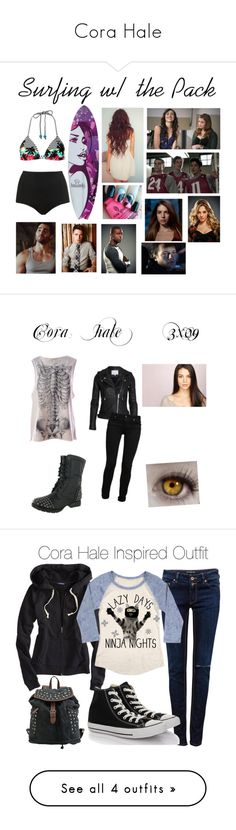 """""""Cora Hale"""" by moosymoo ❤ liked on Polyvore featuring Roxy, Topshop, Magic Bullet, Iron Fist, Paige Denim, Breckelle's, Kane, Pull&Bear, American Eagle Outfitters and Converse"""