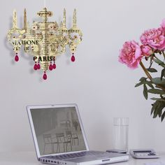 Your workstation never looked so good; add a touch of class to your morning news read.