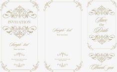 Vetor retro convites de Casamento medieval), Cartão De Convite De Casamento, Convites De Casamento Convites, Publicidade E DesignPNG e Vector