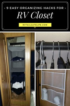 9 Easy Organizing Tips And Hacks For Your RV Closet