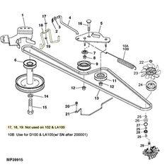 John Deere Lawn Mower Parts / Accessories