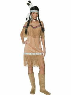 damenkostüme karneval indianer kostüm karneval