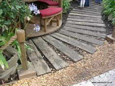 IDEAS - Reclaimed Railway Sleepers - RUSTIC TOUCH LTD - Picasa Web Albums