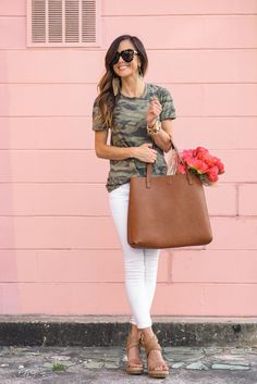 If you've always been unsure about how to wear camo, I'm giving you a few ideas and some words of encouragement on the blog today!