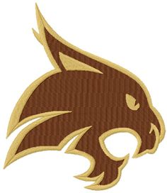 Your place to buy and sell all things handmade Texas State Bobcats, Texas State University, University Logo, Machine Embroidery Designs, Embroidery Patterns, Logo Shapes, Cute Crafts, Superhero Logos, Quilts