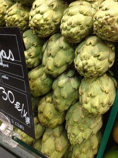Alcachofas de temporada.     ¿Quieres recetas de alcachofas? ¡Haz click!